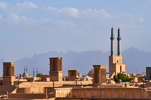 Iranian Culture「Iran, Yazd, cityscape」:スマホ壁紙(9)