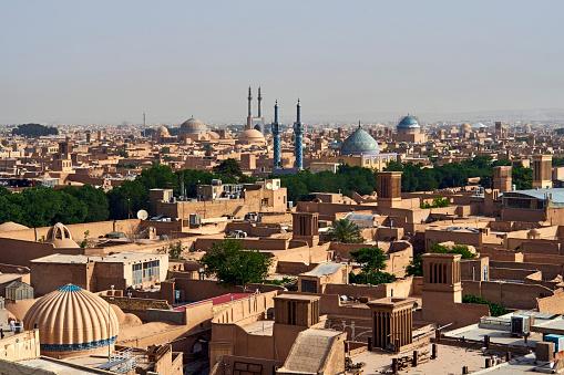 Iran「Iran, Yazd, cityscape」:スマホ壁紙(8)