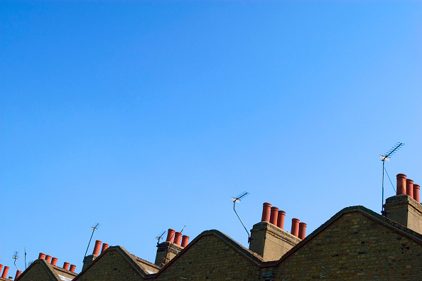 Copy Space「Abstract view of terraced houses roof」:写真・画像(18)[壁紙.com]