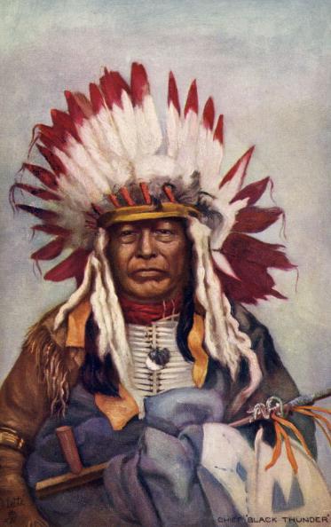 Navajo Culture「Chief Black Thunder」:写真・画像(18)[壁紙.com]