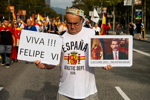 David Ramos「A Unionist March Takes Place On The National Day of Spain」:写真・画像(7)[壁紙.com]