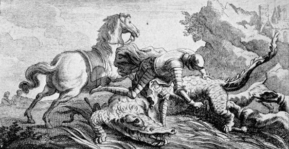 Circa 14th Century「Dieudonné de Gozon, slaying」:写真・画像(7)[壁紙.com]