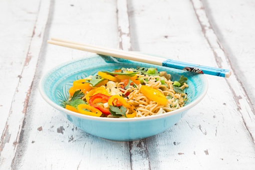 Soy Sauce「Bowl of mie noodles with vegetables」:スマホ壁紙(19)