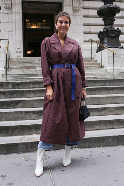 Achim Aaron Harding「Street Style - New York Fashion Week September 2018 - Day 3」:写真・画像(17)[壁紙.com]
