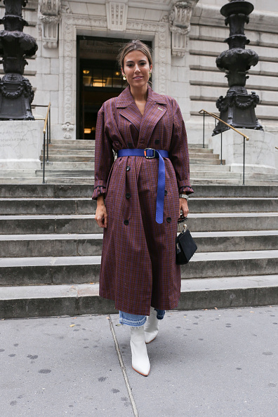 Achim Aaron Harding「Street Style - New York Fashion Week September 2018 - Day 3」:写真・画像(16)[壁紙.com]