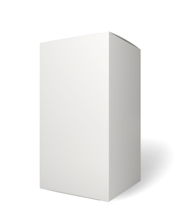 Standing「Blank retail product package on white」:スマホ壁紙(19)