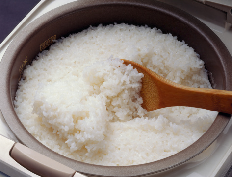 Rice - Food Staple「Steamed rice in rice cooker」:スマホ壁紙(17)