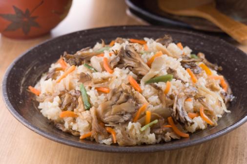 Bush Bean「Steamed Rice with Mushroom」:スマホ壁紙(15)