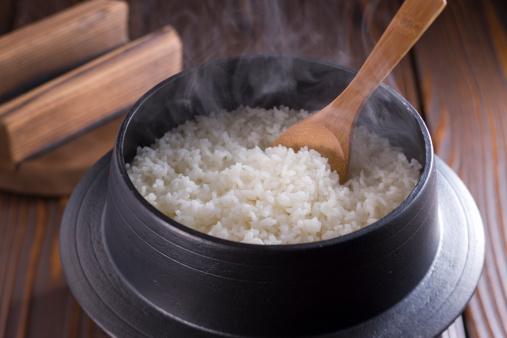 Rice - Food Staple「Steamed Rice in Iron Pot」:スマホ壁紙(18)