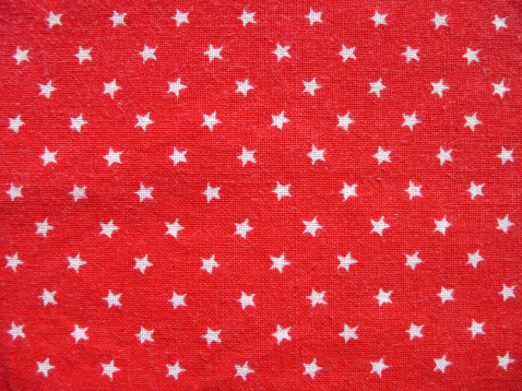 Christmas「Texture 1 - Red cotton fabric with white stars」:スマホ壁紙(8)