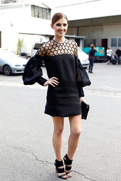 Black Color「Street Style Day 1 - MBFWA S/S 2013」:写真・画像(19)[壁紙.com]
