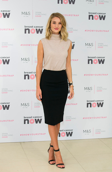 Breast「Rosie Huntington-Whiteley Launches New M&S Lingerie Range In Partnership With Breast Cancer Awareness」:写真・画像(3)[壁紙.com]