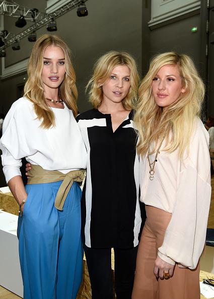 ロージー・ハンティントン・ホワイトリー「Chloe : Front Row - Paris Fashion Week Womenswear Spring/Summer 2015」:写真・画像(8)[壁紙.com]