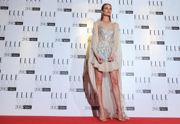 Rosie Huntington-Whiteley「ELLE Style Awards 2012 - Press Room」:写真・画像(15)[壁紙.com]