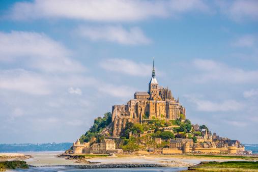 UNESCO World Heritage Site「Mount St. Michel」:スマホ壁紙(12)