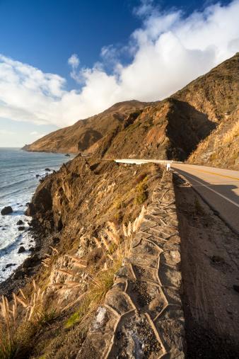 Big Sur「Scenic road on the Big Sur, Coastline and sea California」:スマホ壁紙(16)