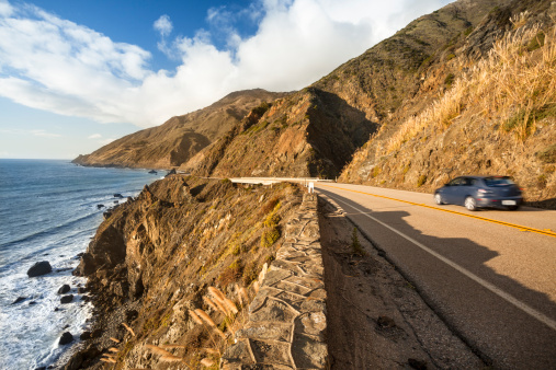 Big Sur「Scenic road on the Big Sur, Coastline and sea California」:スマホ壁紙(11)