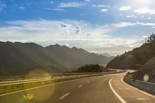 Awe「A scenic road crossing through Croatia」:スマホ壁紙(7)