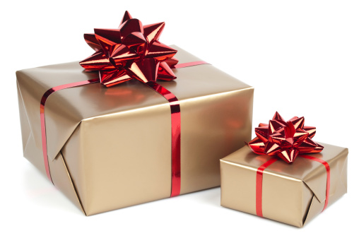 Gold Colored「Gift boxes」:スマホ壁紙(14)