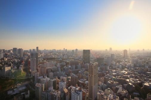 Day「Cityscape, Minato, Tokyo, Japan」:スマホ壁紙(17)