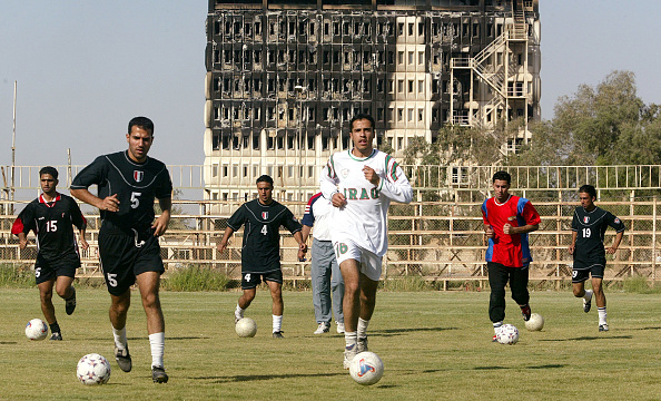 五輪代表「Iraq Olympic Soccer Team Practices For First Time Since War」:写真・画像(19)[壁紙.com]