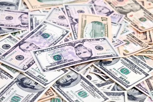 American One Hundred Dollar Bill「Assorment of New Currency」:スマホ壁紙(9)