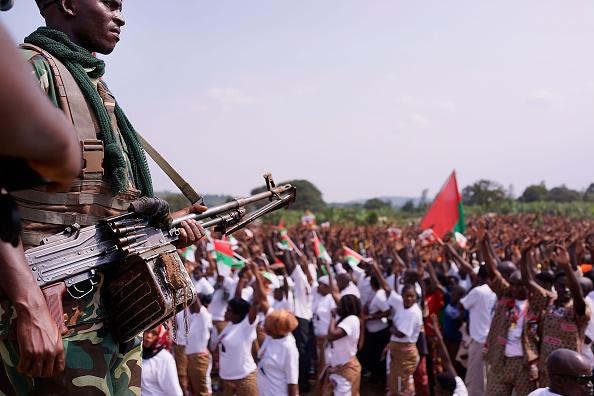 Burundi - East Africa「Burundi President Pierre Nkurunziza Holds Campaign Rally」:写真・画像(0)[壁紙.com]