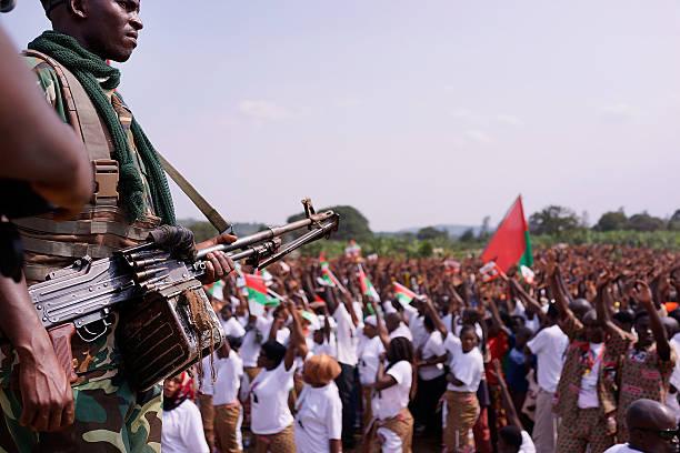 Burundi President Pierre Nkurunziza Holds Campaign Rally:ニュース(壁紙.com)