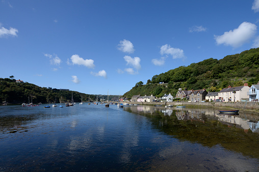 自然美「Lower Town Fishguard Harbour」:スマホ壁紙(10)