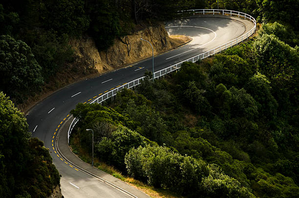 Curving Rural Road:スマホ壁紙(壁紙.com)