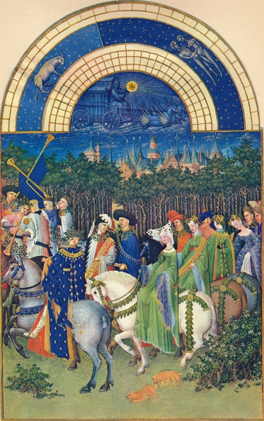 Manuscript「May - The Town Of Riom」:写真・画像(11)[壁紙.com]