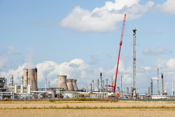 Greenhouse Gas「The Ineos oil refinery in Grangemouth Scotland, UK. The site is responsible for massive C02 emissions.」:写真・画像(11)[壁紙.com]