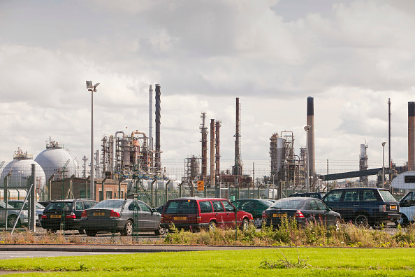 Greenhouse Gas「The Ineos oil refinery in Grangemouth Scotland, UK. The site is responsible for massive C02 emissions.」:写真・画像(16)[壁紙.com]