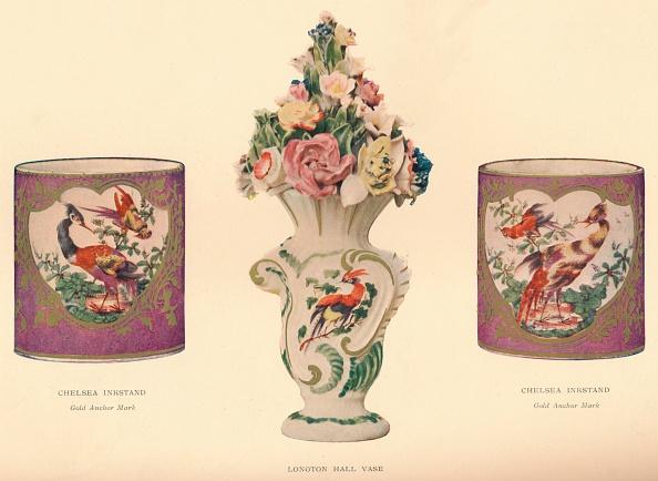 Animal Representation「2 Chelsea Inkstands and a Longton Hall Vase, c1755」:写真・画像(0)[壁紙.com]