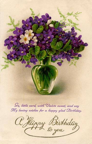 Birthday Card「Birthday card, c1900-1929(?).」:写真・画像(11)[壁紙.com]