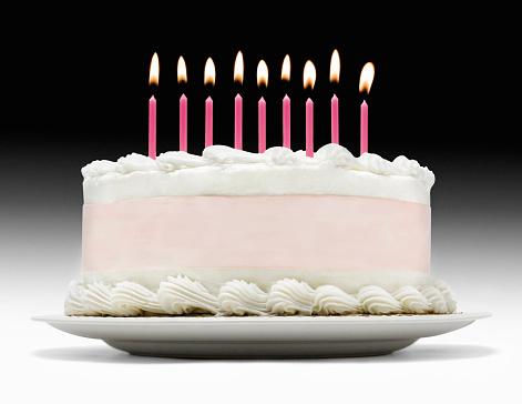 ローソク「Birthday cake」:スマホ壁紙(13)