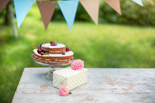 Birthday Present「Birthday cake」:スマホ壁紙(13)