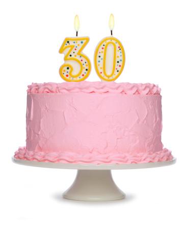 ローソク「誕生日ケーキ」:スマホ壁紙(11)