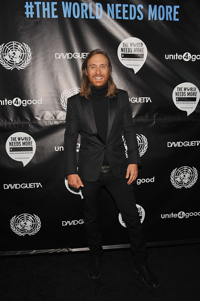 """United Nations Building「2013 David Guetta Premieres New Music Video """"One Voice"""" Onto The Front Of UN Headquarters」:写真・画像(10)[壁紙.com]"""
