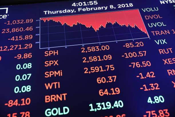USA「U.S. Stocks Continue Week Of Extreme Volatility, With Steep Drop Over A 1,000 Points」:写真・画像(18)[壁紙.com]