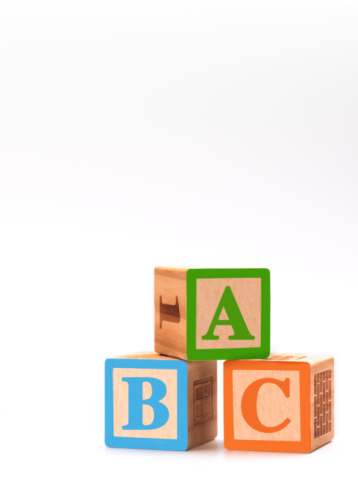 Letter B「children's ABC building blocks」:スマホ壁紙(8)