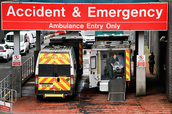 Glasgow - Scotland「UK Accident and Emergency Service Stretched Close to Breaking Point」:写真・画像(18)[壁紙.com]