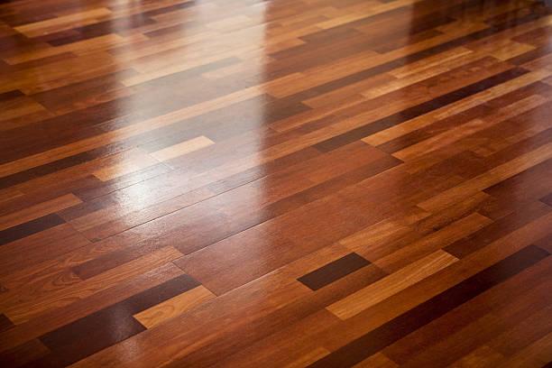 Wooden floor:スマホ壁紙(壁紙.com)