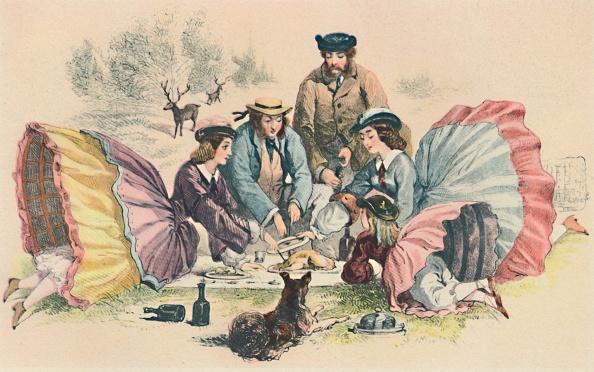 Picnic Table「A Victorian Picnic」:写真・画像(13)[壁紙.com]