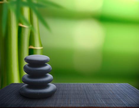 Feng Shui「Tranquil Balance」:スマホ壁紙(4)