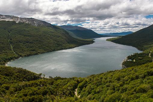 cloud「View over Lago Escondido in Tierra del Fuego」:スマホ壁紙(18)