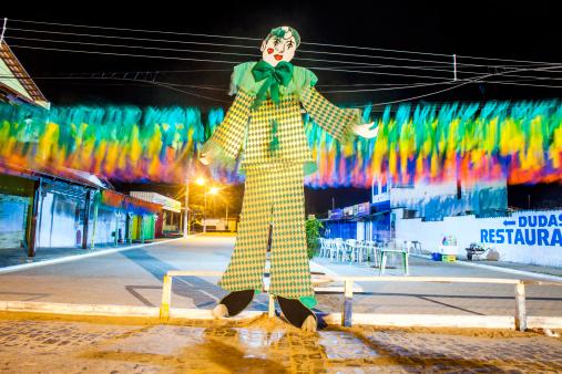 Brazilian Carnival「A paper sculpture during Carnival at night.」:スマホ壁紙(4)