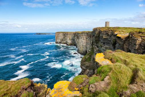 Memorial「Sea Cliffs at Marwick Head, Orkney」:スマホ壁紙(19)