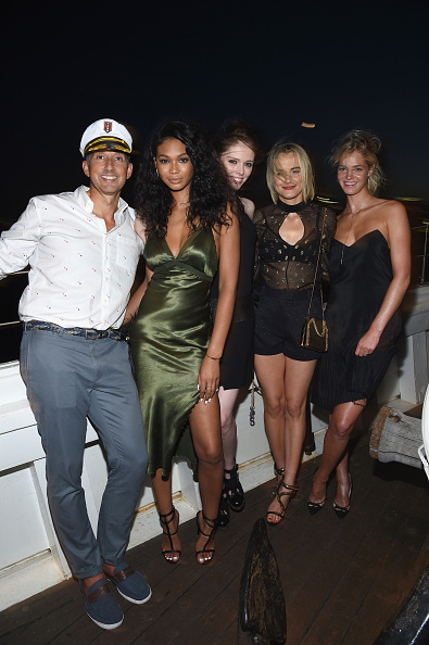 エリン・ヘザートン「All Aboard! W Hotels Toasts The Upcoming Opening Of W Amsterdam With 'Captains' Taylor Schilling, Erin Heatherton, Chanel Iman, Coco Rocha And More On The Grand Banks」:写真・画像(8)[壁紙.com]