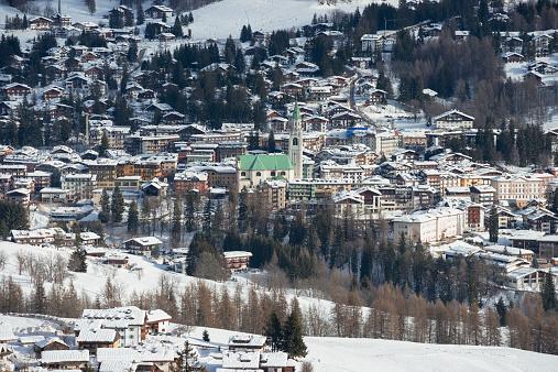 スキー場「Cortina d'Ampezzo」:スマホ壁紙(7)